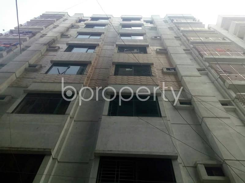 Visit This Apartment For Sale In Dakshin Khan Near United Commercial Bank Limited.