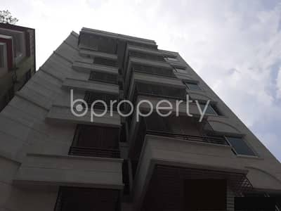 Visit This Blissful Apartment Which Is For Sale In Bashundhara R-A Near Madinatul Ulum Madrasa Masjid.