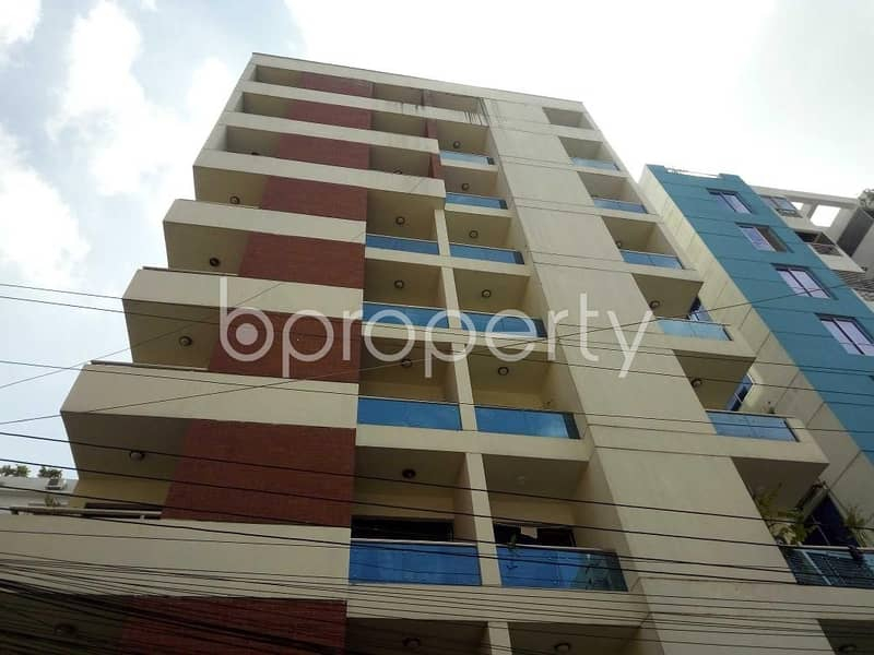 Visit This Apartment For Sale In Bashundhara R-A Near Sunflower School And College .