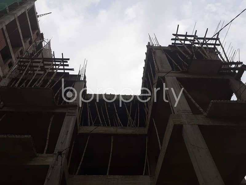 Visit This 2148 Sq. Ft And 3 Bedroom Apartment For Sale In Bashundhara R-A Near Ebenzer International School.