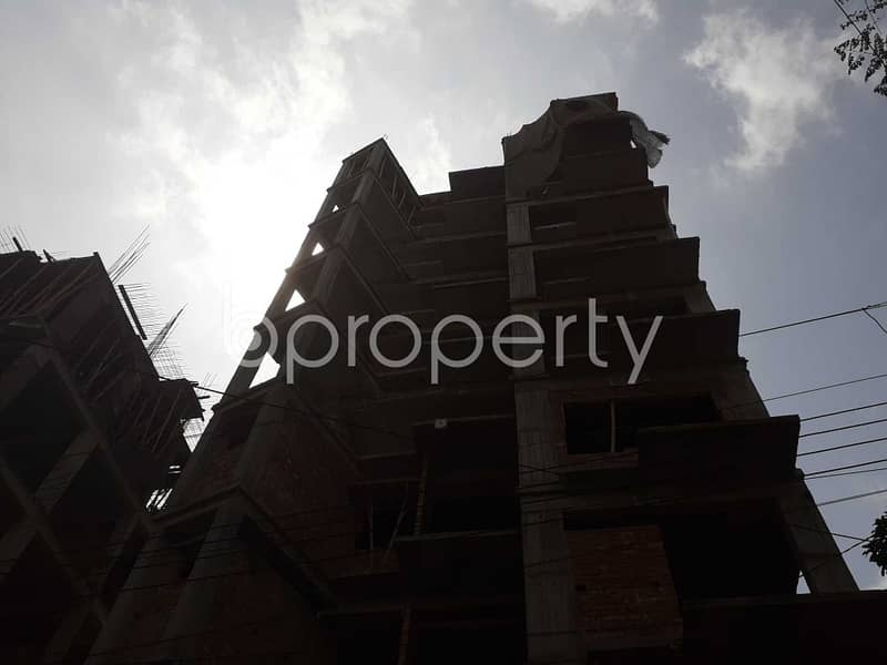 Find Your Desired Apartment At This Ready Flat For Sale At Bashundhara Nearby North South University