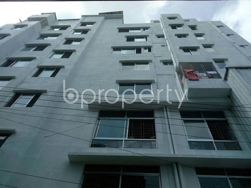 An Apartment Which Is Up For Sale At South Chalabon Near To Al-Arafah Islami Bank Limited.