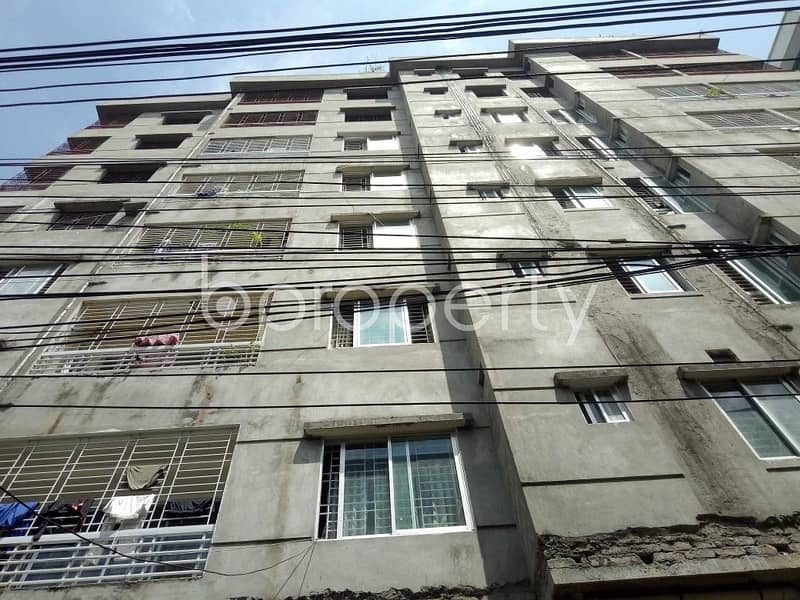 Nice Flat Can Be Found In Indira Road For Sale, Near Sher-e-bangla Nagar Park