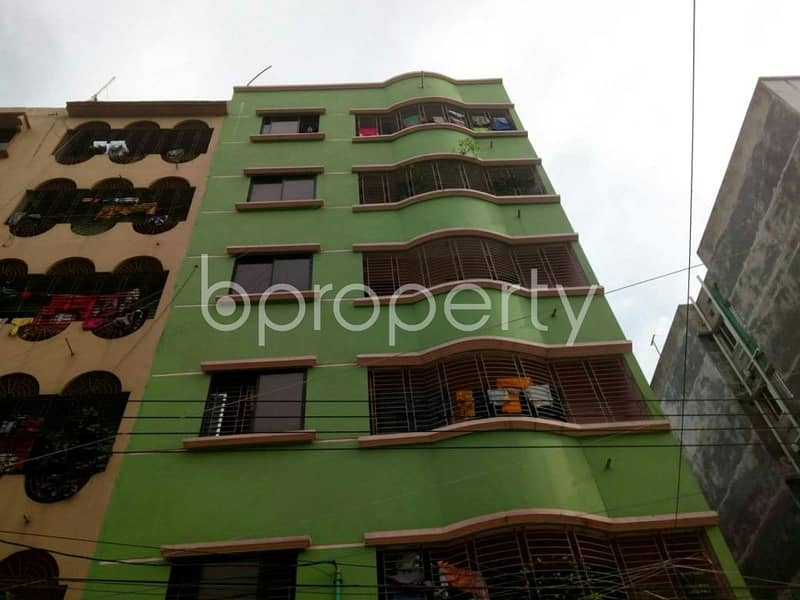 A 1300 sq. ft Apartment Which Is Up For Sale At Mirpur Near To M. D. C. Model Institute.
