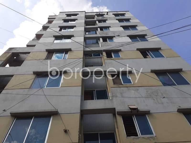 A Flat Can Be Found In Banasree For Sale, Near South Banasree Central Jame Masjid