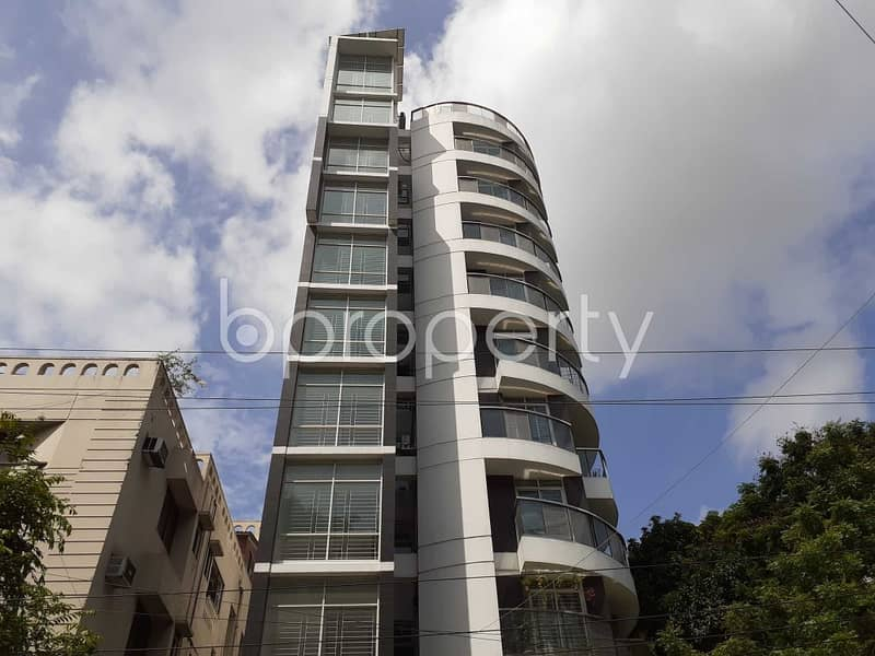 This Ready Apartment At Dhanmondi , Near Eastern University Is Up For Sale.
