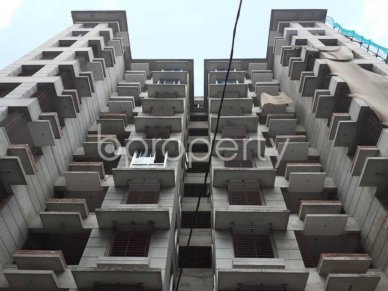 A Nice Residential Flat For Sale Can Be Found In Bashundhara Nearby Viquarunnisa Noon School And College