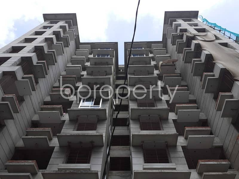 Offering You A Nice Flat For Sale In Bashundhara Near Bashundhara Eye Hospital & Research Institute