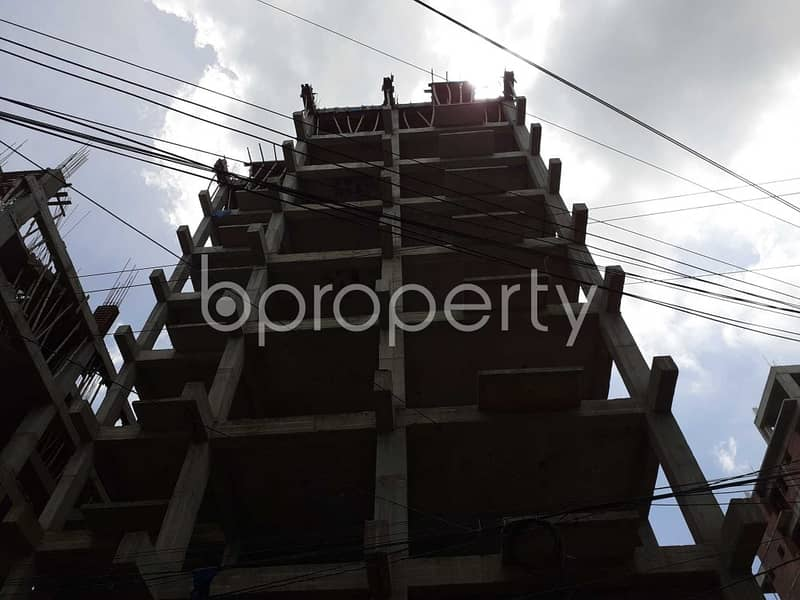 In Bashundhara Near Bashundhara Eye Hospital & Research Institute, A Flat Is Ready For Sale