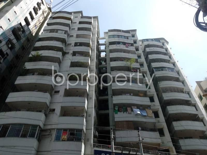 Find Your Desired Apartment At This Ready Flat For Sale At Hatirpool Nearby General Medical Hospital & Diagnostic Center