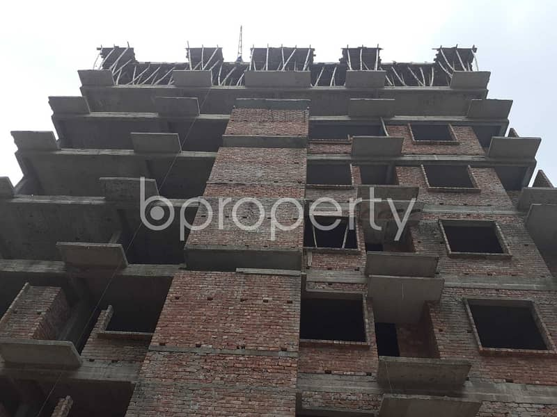 On The Doorstep Of Nobodoy Housing Society Jame Mosjid, An Apartment Of 1575 Sq Ft Is Ready To Sale In Mohammadpur