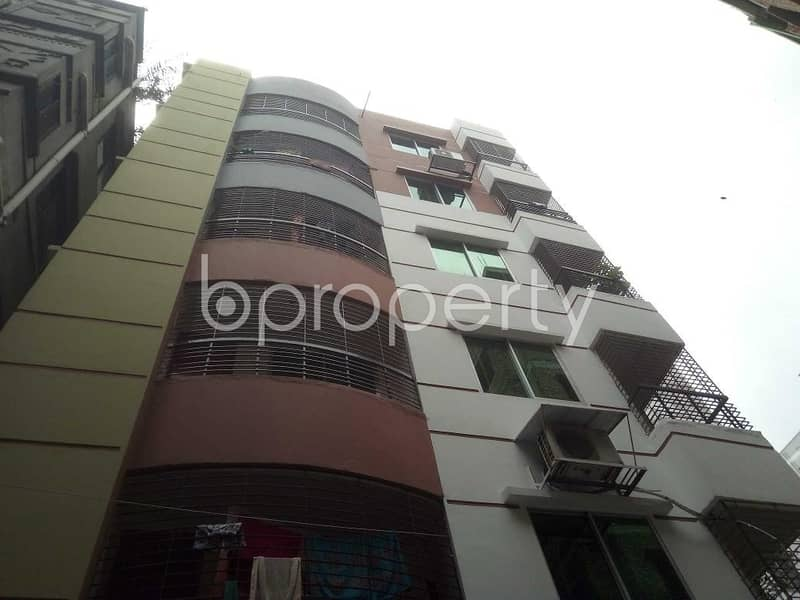 Well-constructed Apartment Is Ready For Sale At Mirpur Nearby Monipur High School And College