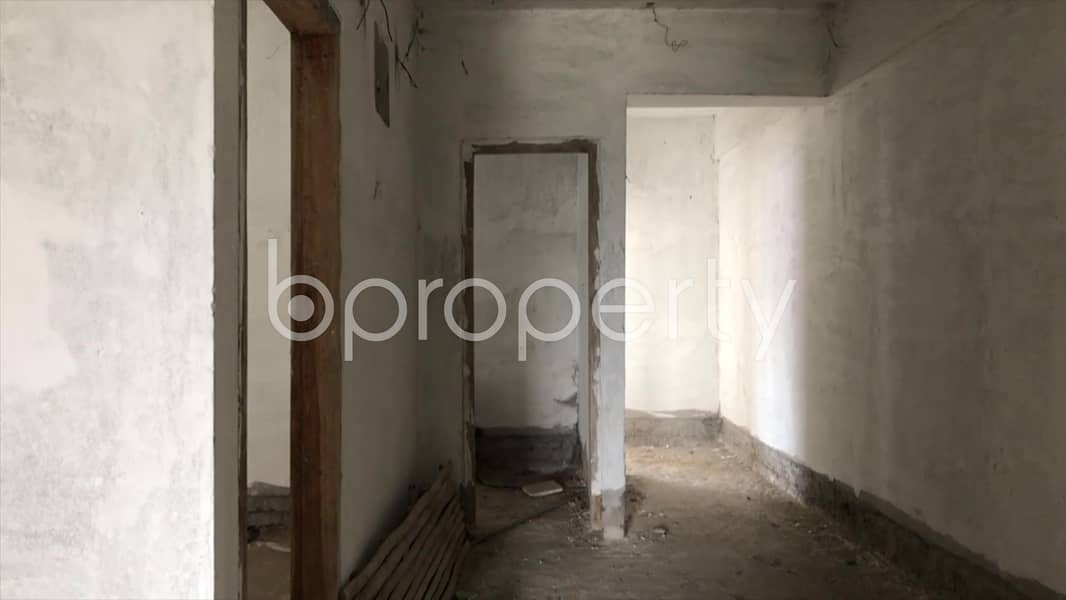 Nearly Finished Flat Is Up For Sale At Ashkona Nearby Baitul Mamur Jame Masjid