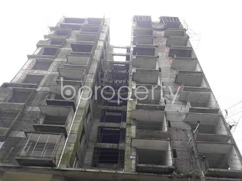 Ready Flat Is Now For Sale In Kazitula Road Nearby Kazi Jalal Uddin Girls' High School