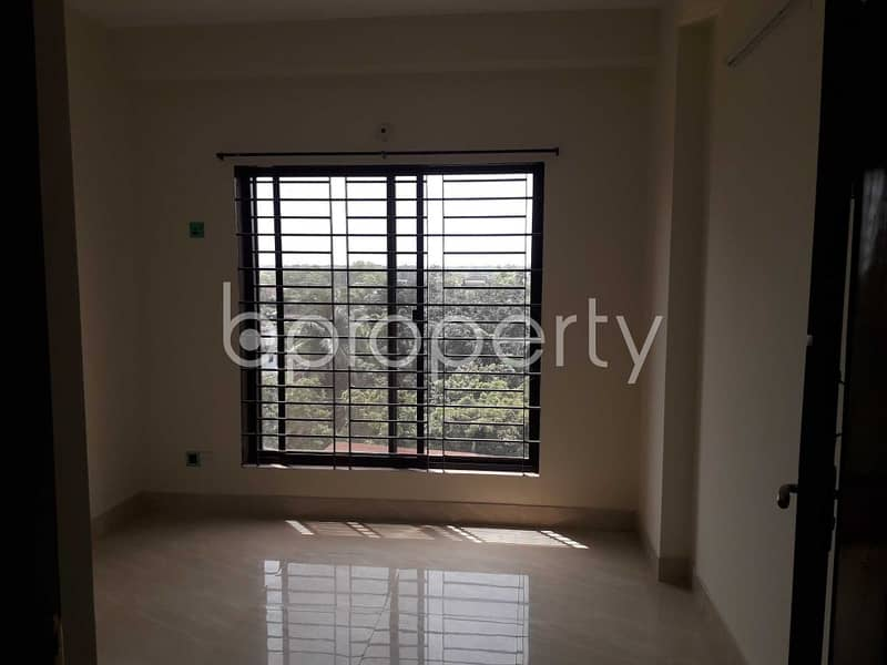 An Apartment Of 1504 Sq. Ft For Sale Is Located On Shahi Eidgah Near Kazi Jalal Uddin Girls' High School.