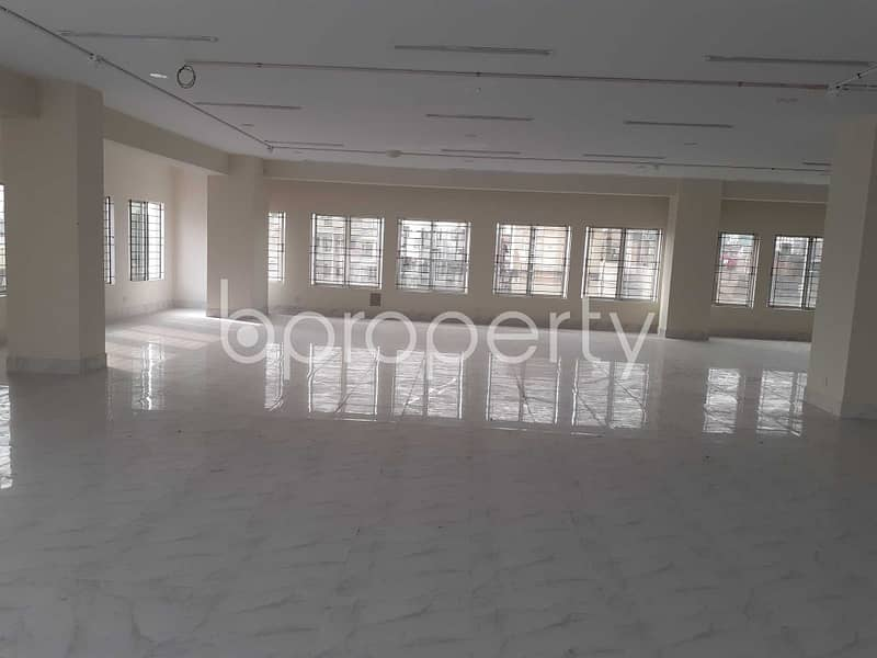 A Commercial Space Of 4500 Sq. Ft Is Available For Rent In Mirpur Nearby Dhaka Commerce College.