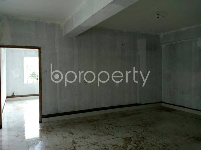 In The Location Of Chattogram DOHS, Close To Surma Colony Jame Mosjid A Flat Is Up For Sale.