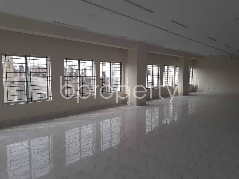 A 4500 Sq. Ft Business Space Is Up For Rent In The Location Of Mirpur Near Dhaka Commerce College.
