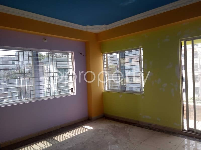A 1550 Sq Ft Decent Flat Which Is Near To International Islamic School And College Is Now For Sale In Mirpur