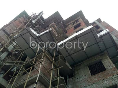 3 Bedroom Apartment for Sale in Badda, Dhaka - A Nicely Planned 1500 Sq Ft Flat Is Up For Sale In South Badda Nearby South Badda Jame Masjid
