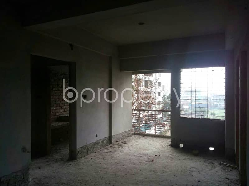 An Apartment Is Up For Sale In Dakshin Khan, Near Southeast Bank Limited