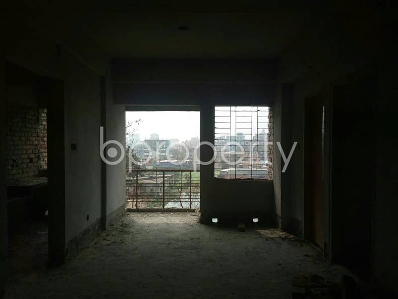 See This Apartment Which Is Up For Sale In Dakshin Khan Near Southeast Bank Limited