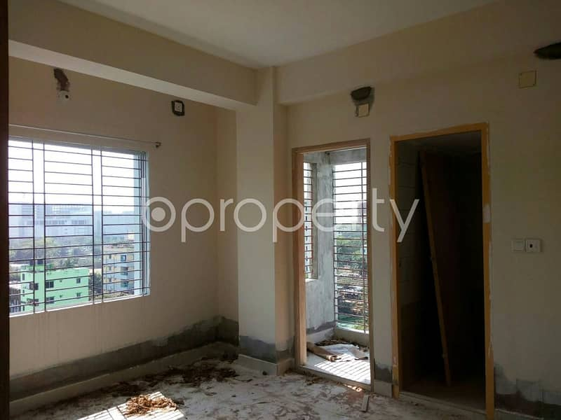 Close to K C Model School & College, an apartment is available for sale in Kosai Bari