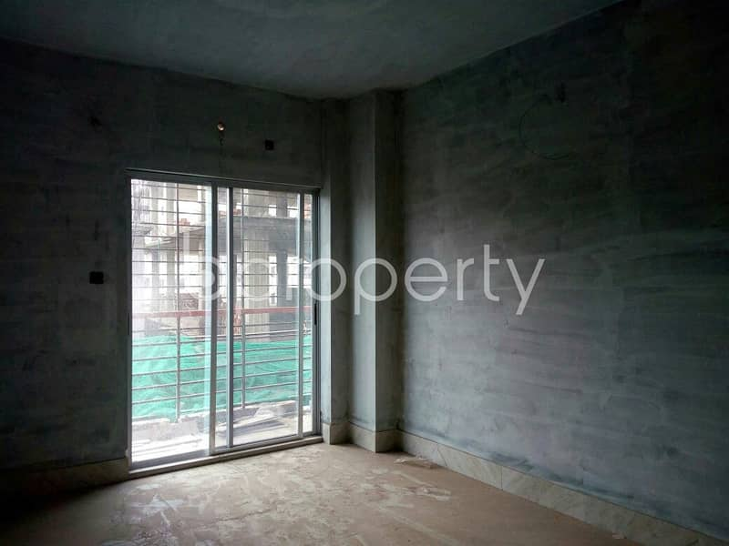 An Apartment For Sale Is Located At Dakshin Khan, Near To Matir Masjid