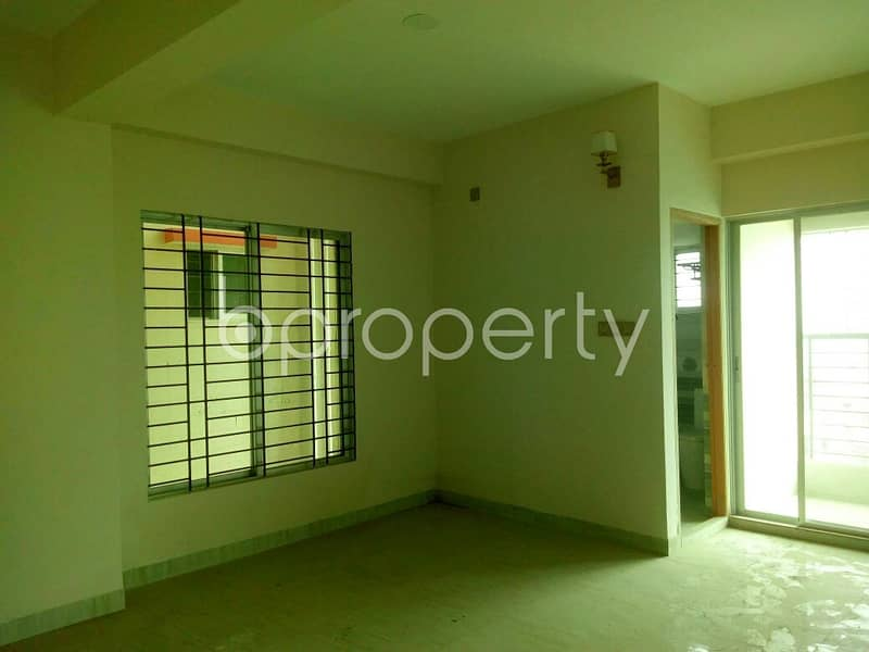 1426 Sq Ft Flat Can Be Found In Ashkona For Sale, Near Shahjalal Islami Bank Limited