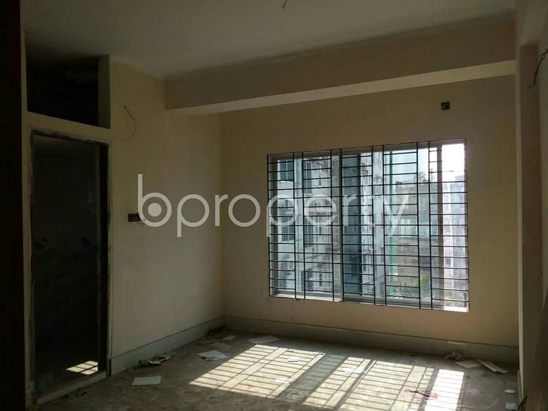Move In And Inhabit This Properly Constructed Flat For Sale In Dampara Near Agrani Bank Limited