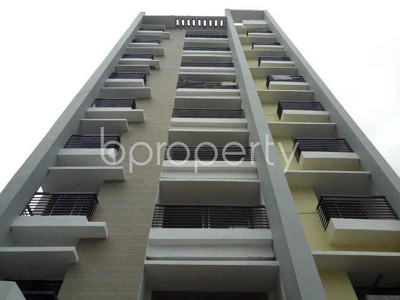 A Nice Residential Flat For Sale Can Be Found In Uttara Nearby Shanto-mariam University