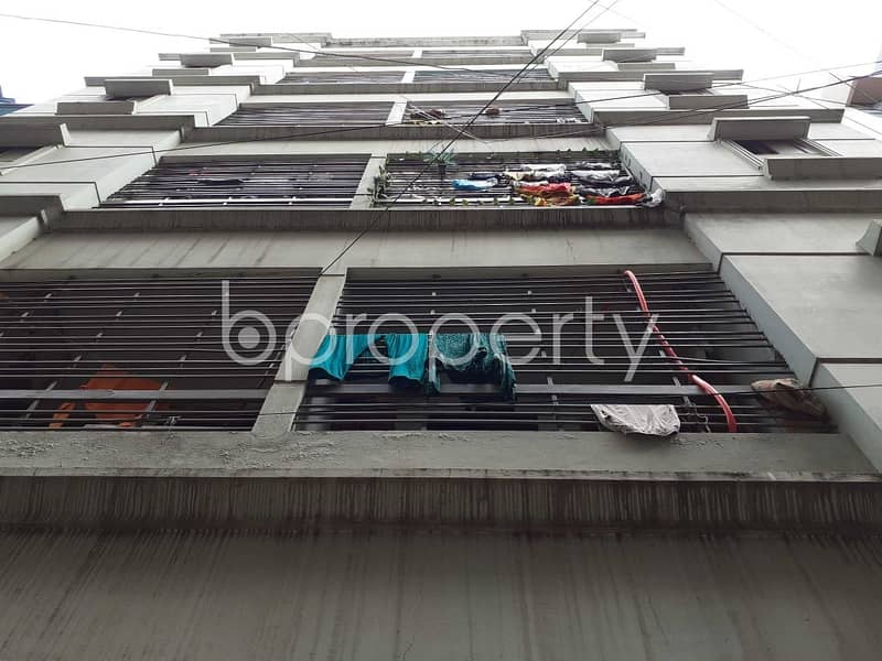 Create Your New Home In A Nice Flat For Sale In Mohammadpur, Near Bashbari Primary School