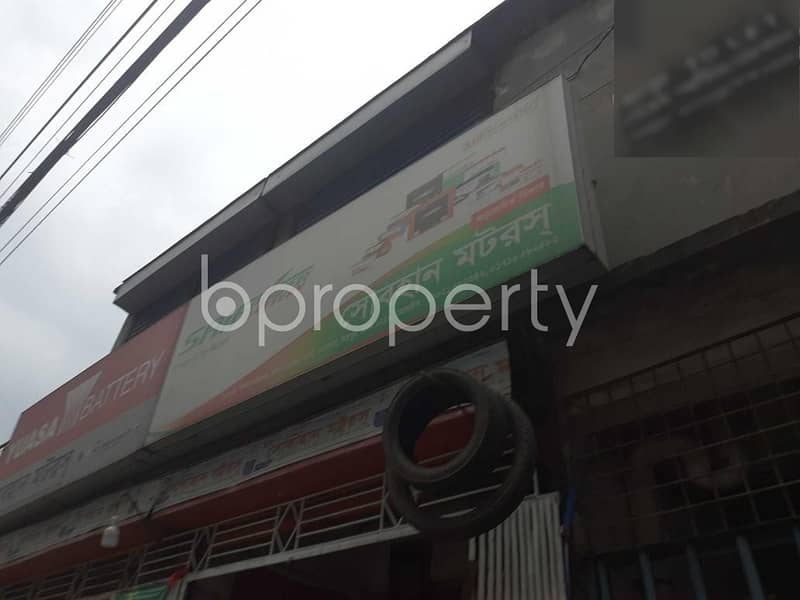 A 850 Sq. Ft Commercial Space Is Available For Rent In Taltola Nearby Agargaon Taltola Colony High School & Womens' College.