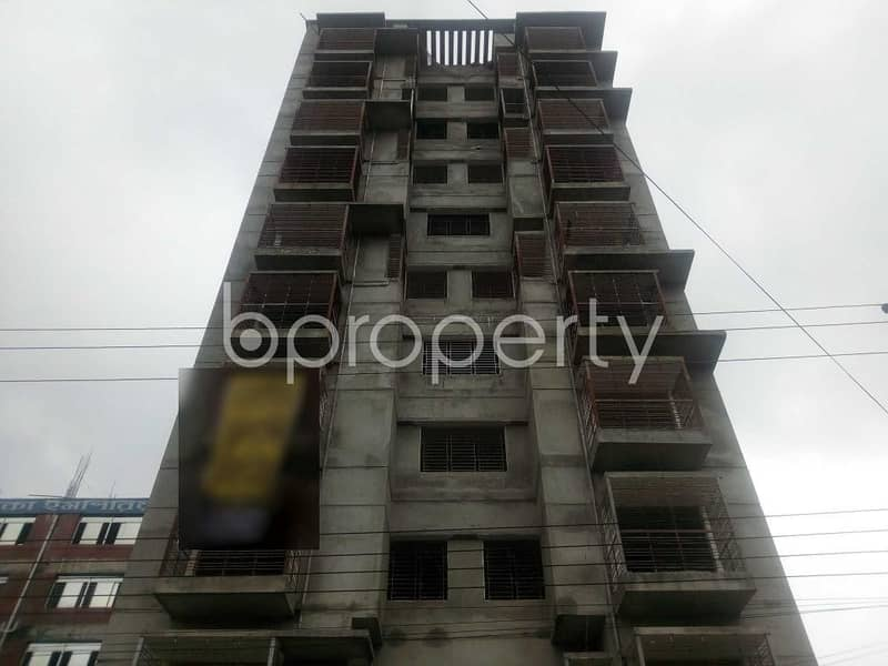 Visit This 1202 Sq. Ft Apartment For Sale In Aftab Nagar Near Baitullah Jame Mosque.