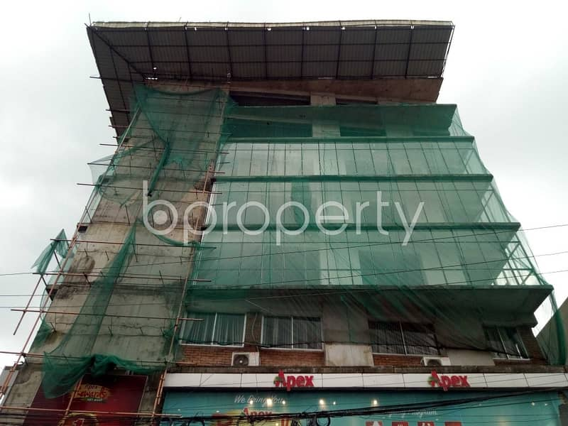 A Spacious Commercial Space Is Available For Sale In Uttara Nearby Southeast Bank Limited.