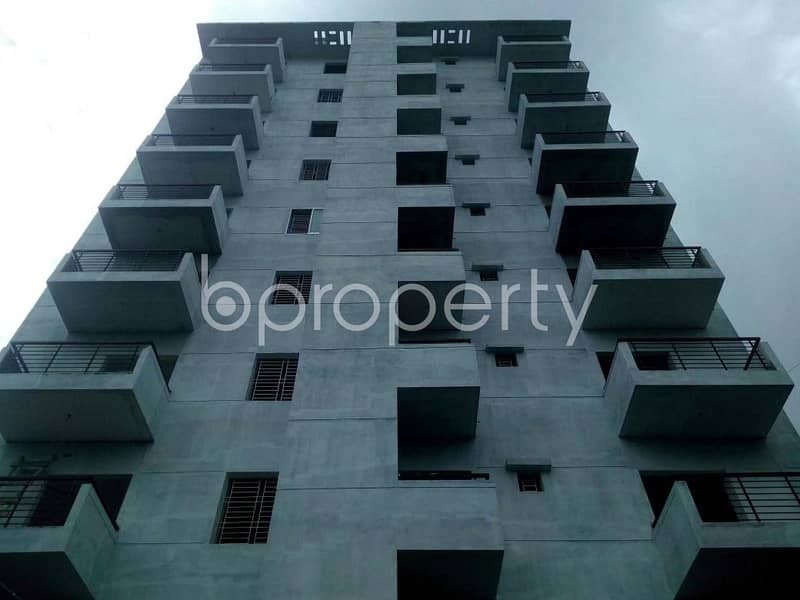 Visit This 1277 Sq. Ft Apartment For Sale In Dakshin Khan Near Goalteak Jame Mosque.