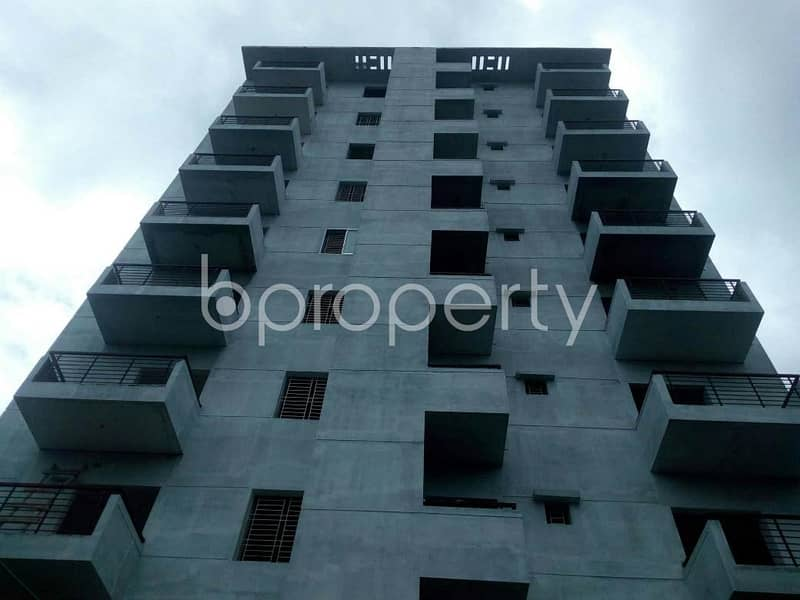 An Apartment Of 1170 Sq. Ft Is Up For Sale At Dakshin Khan Near To Goalteak Jame Mosque.