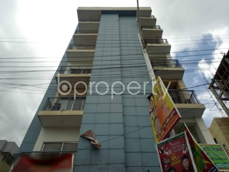 This 1725 Sq. Ft Apartment Up For Sale Is Located At Uttara, Near To Mawlana Manzil Private Mosque.