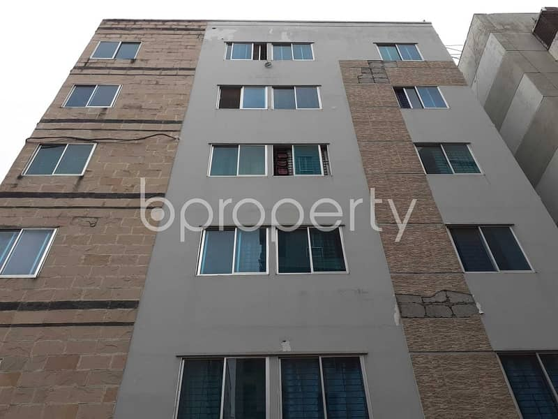 In Bashundhara R-A Near Ebenzer International School 1075 Sq. Ft This Apartment Is For Sale