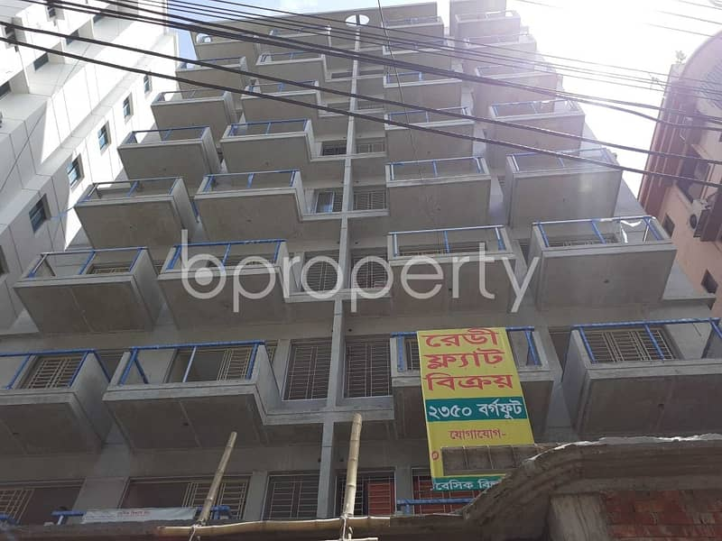 Create Your New Home In A Nice Flat For Sale In Banani, Near Banani Club Field