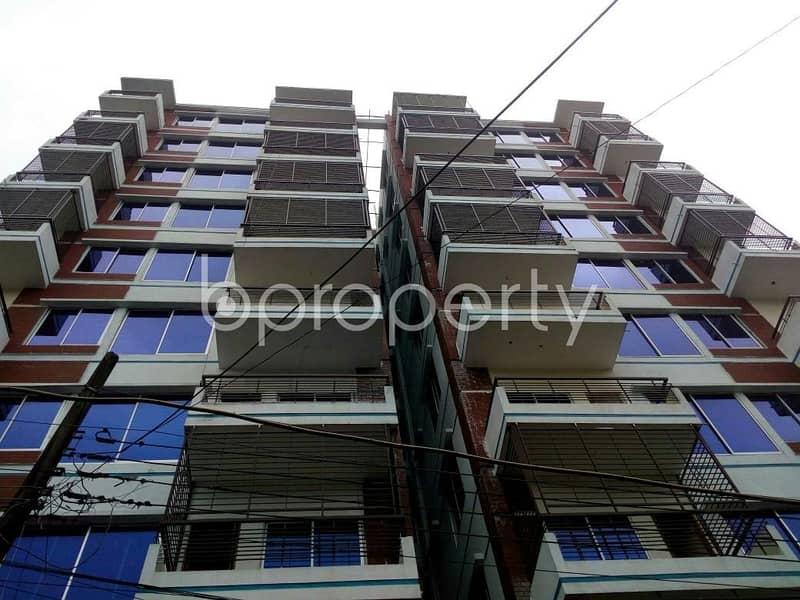 An Apartment For Sale Includes At Khulshi 1 , Near Shah Garibullah Housing Society Jame Mashjid.