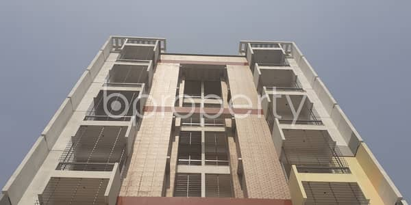Strongly Structured 1250 Sq. Ft Apartment For Sale In Bashundhara R-a Near Center For Islamic Economics Madrasa Mosque.