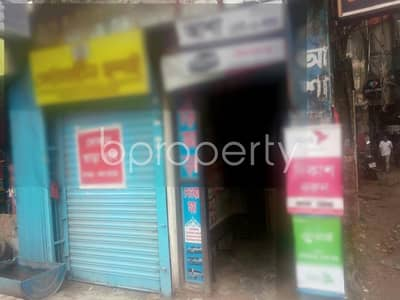This shop is up for rent in Malibagh near Jamuna Bank Limited