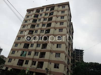 An apartment up for sale is located at Halishahar, near to Halisahar Cantonment Public School & College.