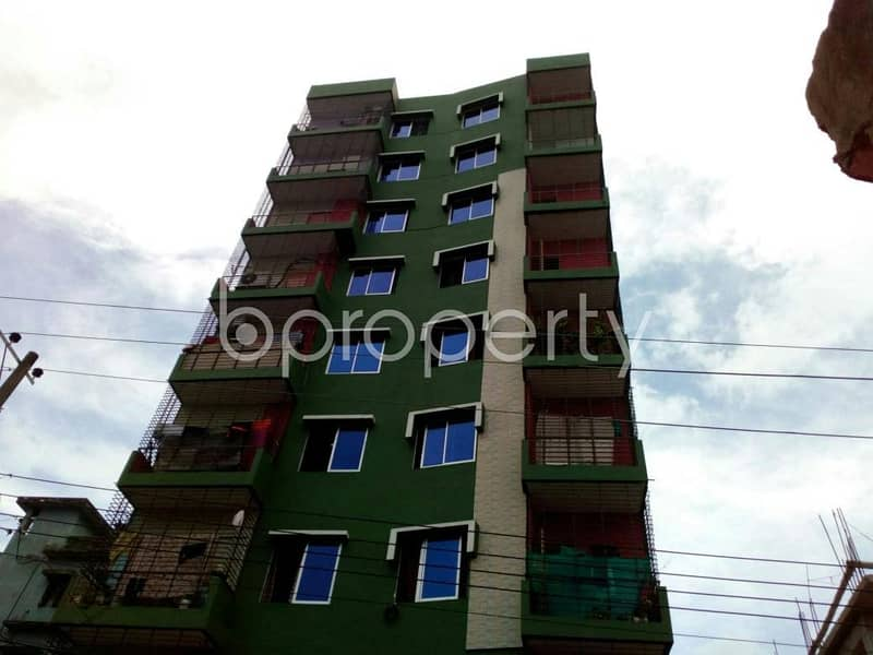 Check this apartment up for sale at Double Mooring near ICMAB Chittagong Branch.