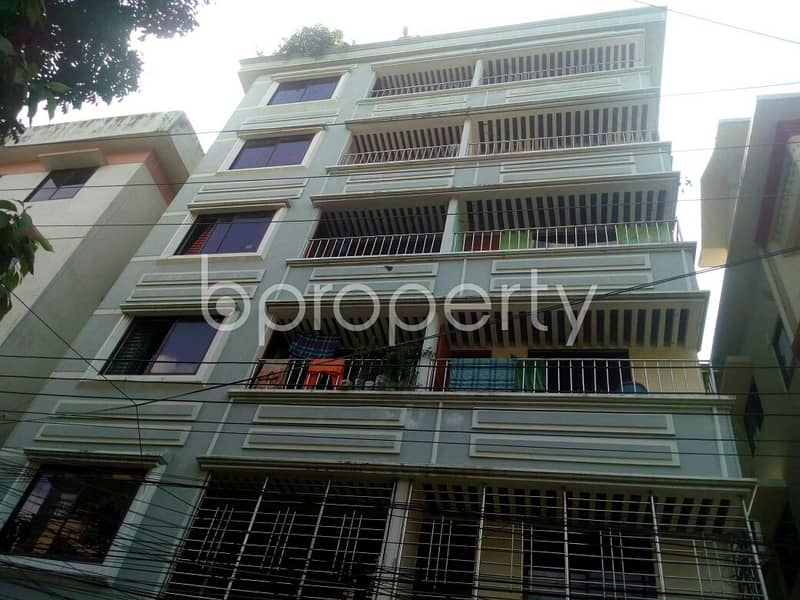 A 1350 SQ FT apartment is up for rent at Panchlaish nearby Sugandha Masjid.