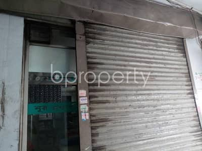 This 225 Sq. Ft. shop is up for rent in Pragati Soroni near to International Convention City Bashundhara