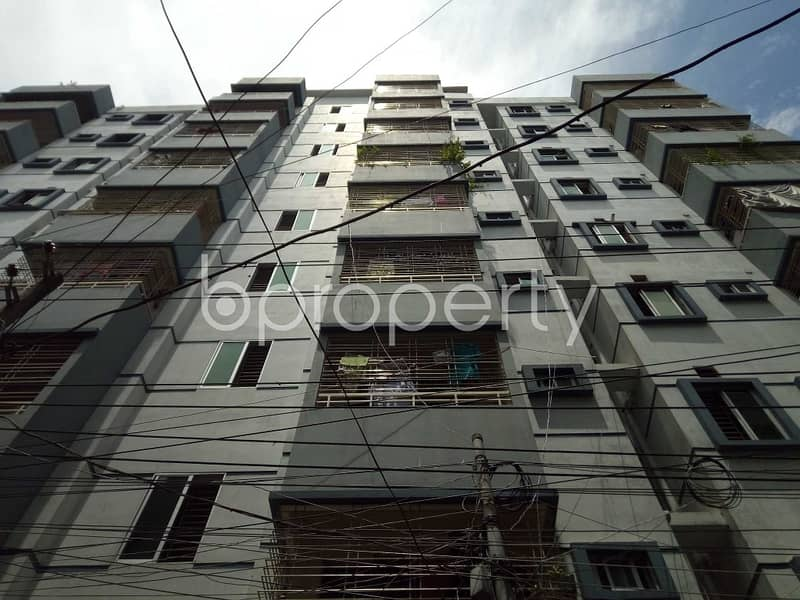 This 1200 SQ Ft apartment ready for sale at East Bashabo, near Siam Drugs & Medicine Shop