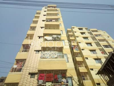 3 Bedroom Apartment for Sale in Khilgaon, Dhaka - An apartment for sale is located at Banasree, near to Eastern Banabithi Shopping Complex