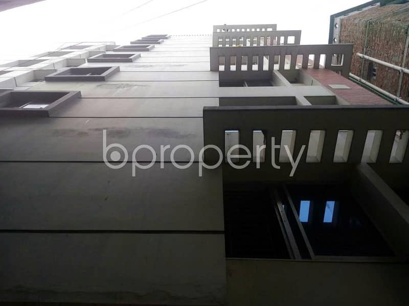 An apartment for sale is located at West Mollartek, near to Mollartek Udayan School And College.